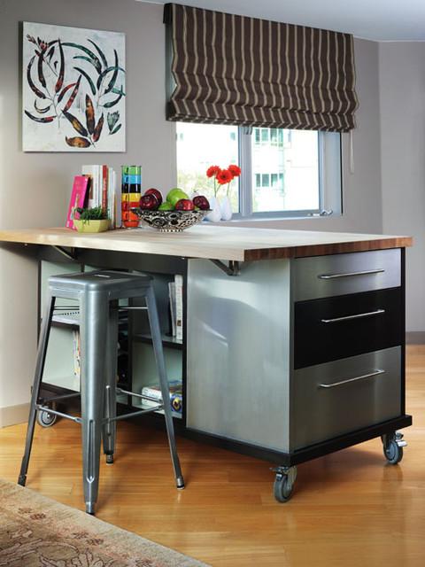 Soma Loft Contemporary Kitchen San Francisco By Faiella Design
