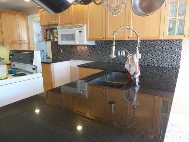 Some Kitchen Backsplashes contemporary-kitchen