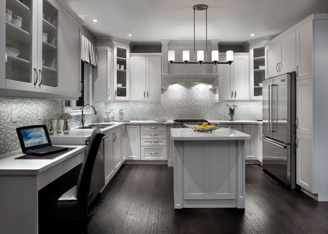 Somerset contemporary kitchen
