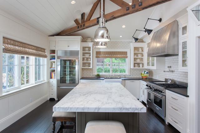 Sonoma New Construction Traditional Kitchen San