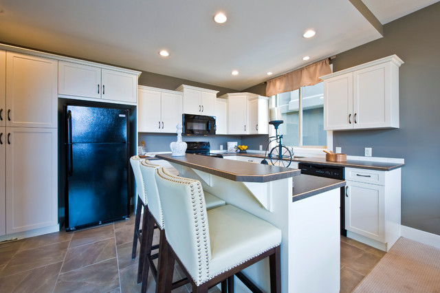 Sonoma Pines Show Home Alameda Traditional Kitchen Calgary By Sticks And Stones Design