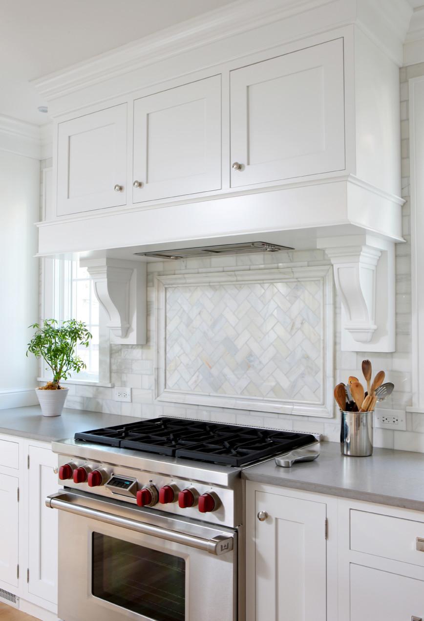 Herringbone Tile Backsplash Houzz