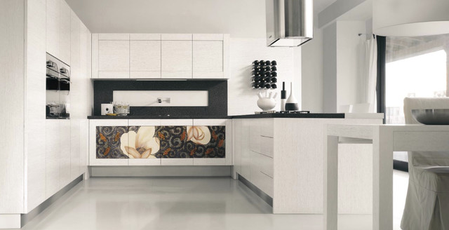 Sophia white luxury kitchen contemporary kitchen for Luxury contemporary kitchens