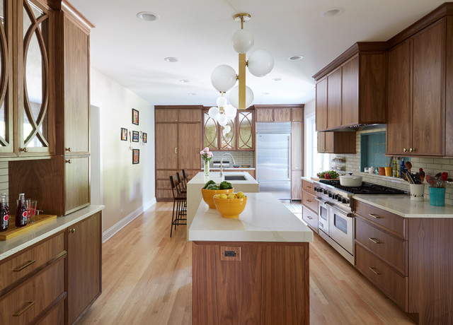 Pack Function Into A Long Narrow Kitchen