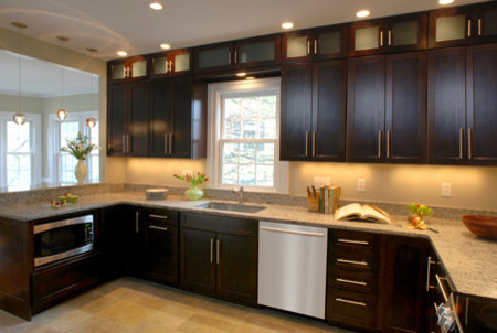 Sophisticated Contemporary Kitchen Redesign contemporary kitchen