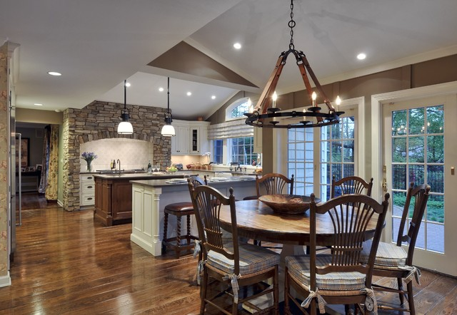 Sophisticated Country Kitchen Traditional Kitchen