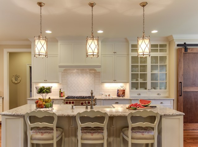 Sophisticated Farmhouse Traditional Kitchen