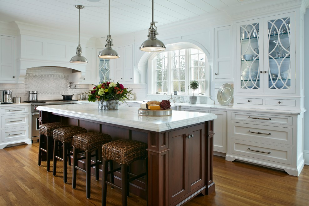 Sophisticated Kitchen Remodel - Traditional - Kitchen ...