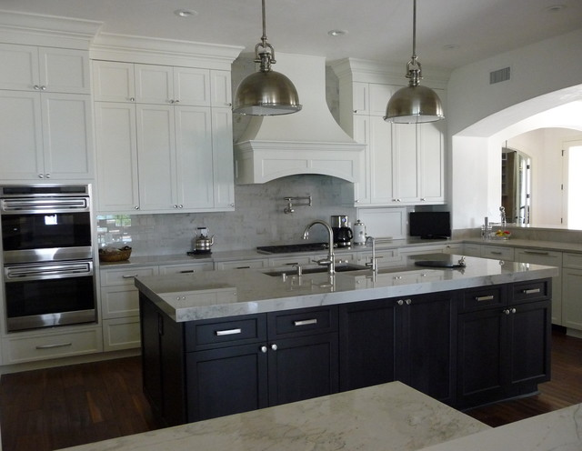 Sophisticated Kitchen - Transitional - Kitchen - austin - by Urban Kitchens and Baths, Inc.