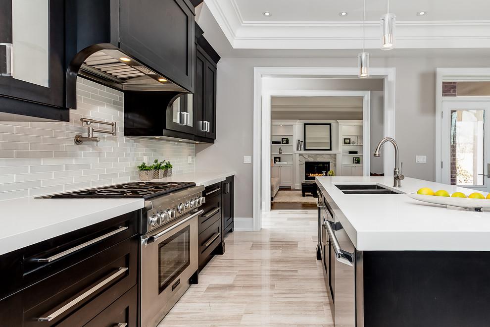 Sophistication Style In Etobicoke Transitional Kitchen Toronto By Wynford Homes Ltd