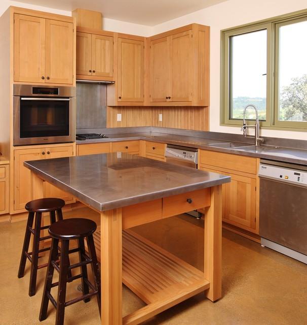 Soter Vineyard Tasting Room Farmhouse Kitchen