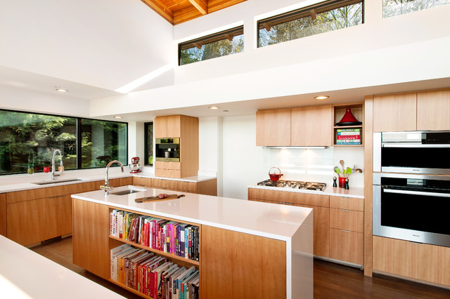 contemporary kitchen seattle by coates design architects seattle