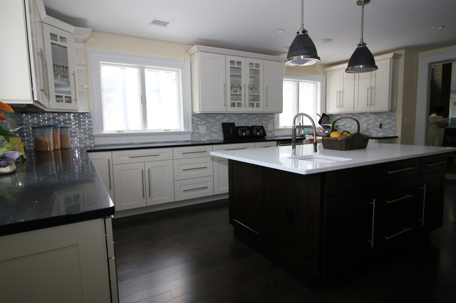 South amboy contemporary kitchen new york by bj for Bj kitchen cabinets