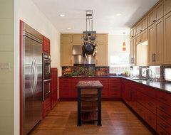 South Austin Bungalow contemporary-kitchen