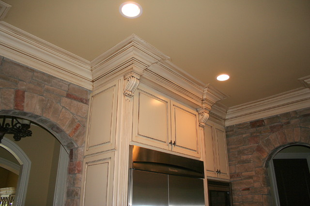 South Charlotte traditional-kitchen