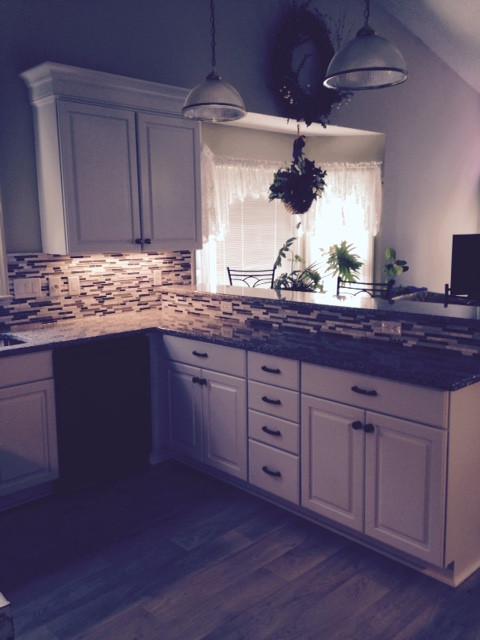South Charlotte White kitchen remodel traditional-kitchen