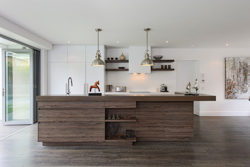 Contemporary Kitchen by Sydney Home Builders Capital Building