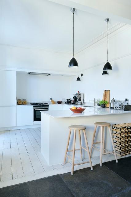 South Crown Street Contemporary Kitchen scandinavian-kitchen