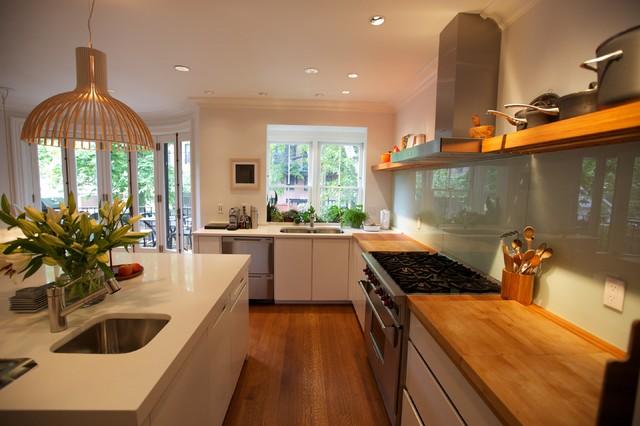 South End BOston contemporary-kitchen