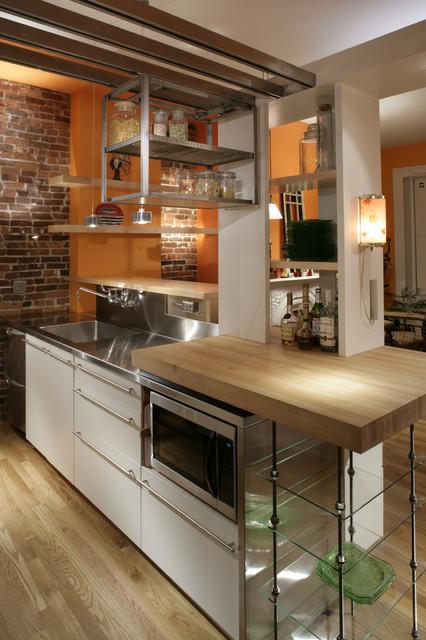 South End Kitchen contemporary-kitchen