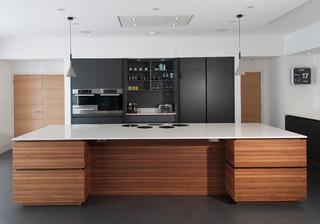 South Hams Contemporary Kitchen Devon By Sara Colledge Interior Design
