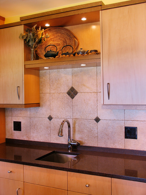 South hill residence mediterranean kitchen seattle for Accents salon bellingham