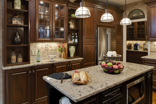 South Lyon Traditional Kitchen