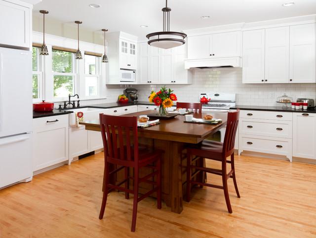 South Minneapolis Kitchen Remodel craftsman-kitchen