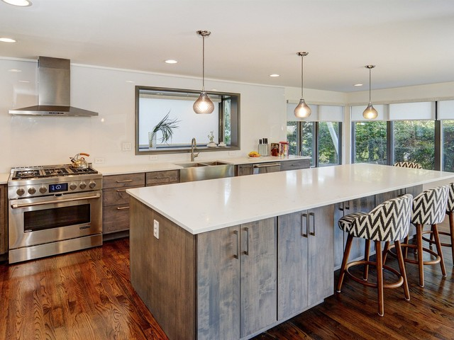 South Orange Whole House Remodel Kitchen Contemporary Kitchen Newark By Cbh Architects