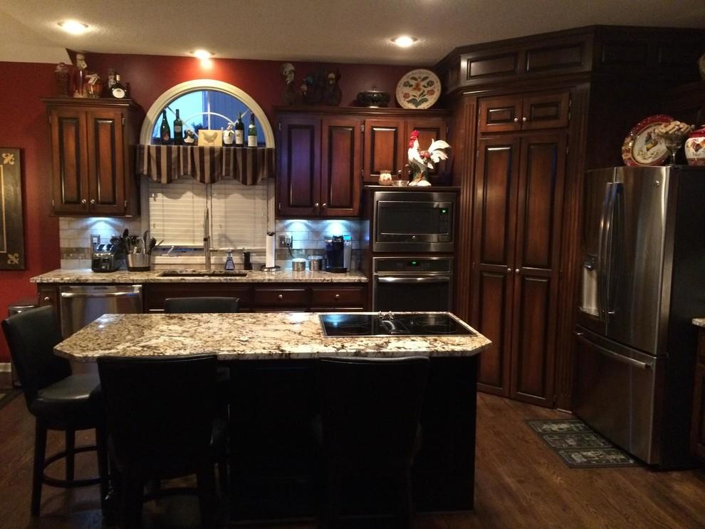 South Overland Park Kitchen - Traditional - Kitchen ...