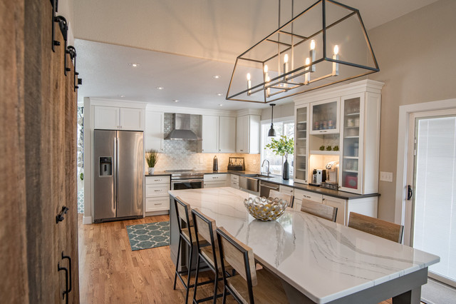 South Parfet Street - Transitional Kitchen - Transitional ...