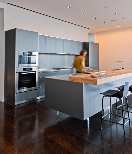South Penthouse Dallas Modern Kitchen Dallas By