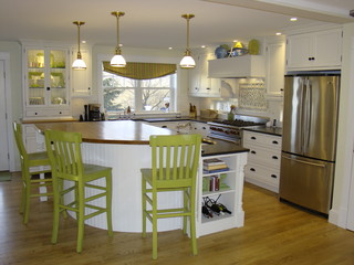 South portland kitchen contemporary kitchen portland maine by robin amorello ckd caps - Kitchen design portland maine ...