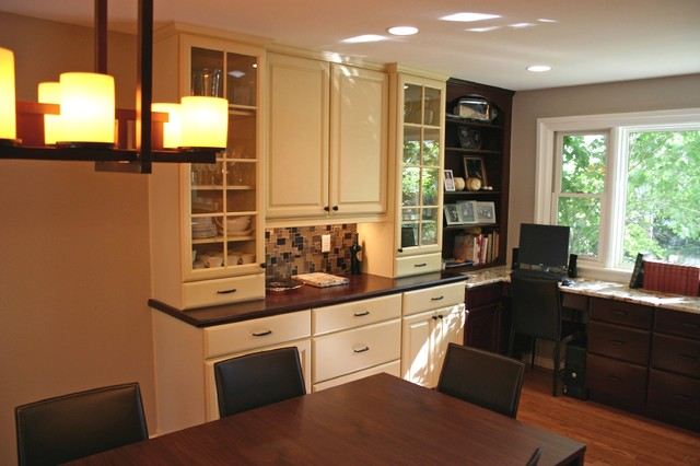 South Quebec Street traditional-kitchen