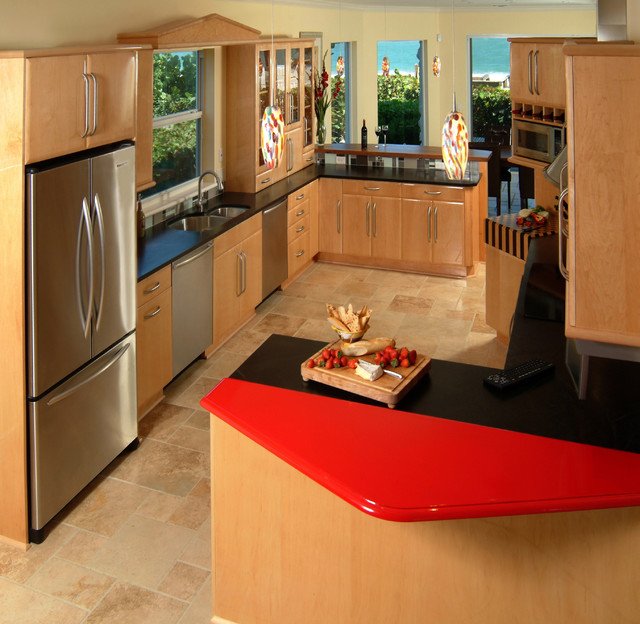 South Vero Beach Kitchen Contemporary Kitchen Other