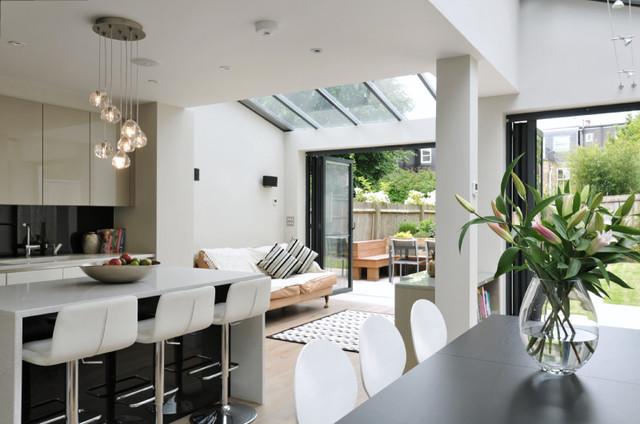 South West London Family Home Contemporary Kitchen London By Chantel Elshout Design