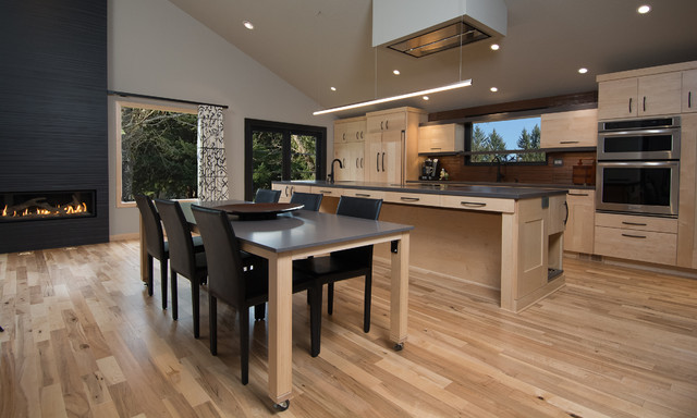 Southeast Portland Kitchen Remodel - Contemporary - Kitchen ...