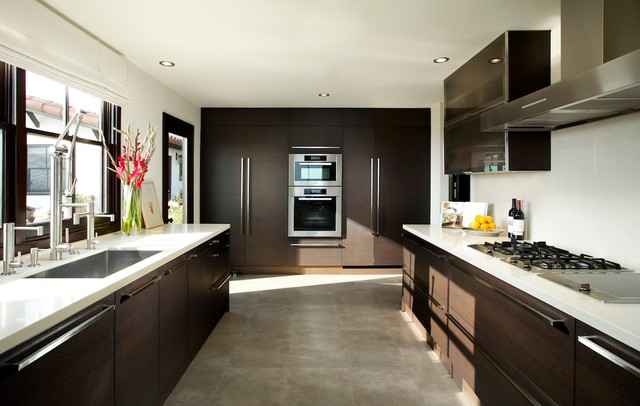 California Contemporary Homes southern california homes - contemporary - kitchen - los angeles