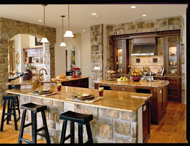 Southern living idea home tropical kitchen austin for Idea homes austin