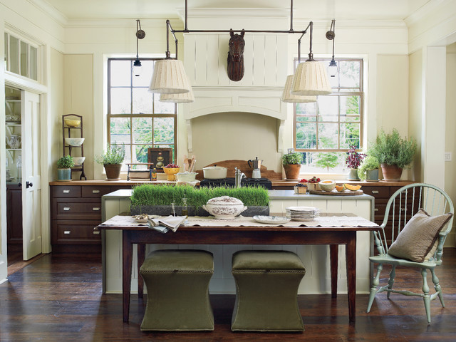 Southern Living Idea House Farmhouse Kitchen