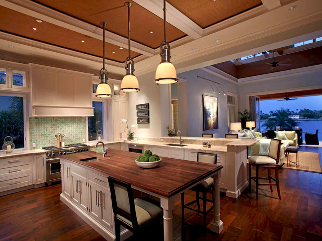 Southern oasis for Tropical kitchen decor