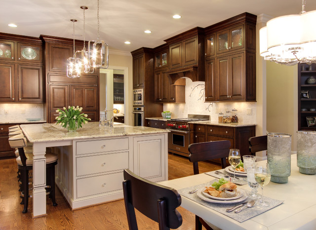 Southern studio interior design traditional kitchen for Southern kitchen design