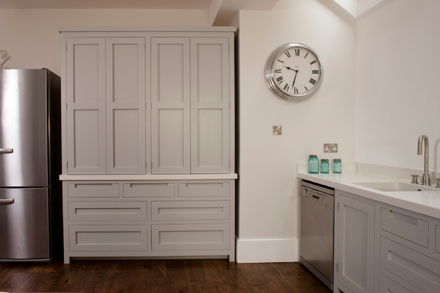 Simple  Handleless Door And Isavailable Across The Entire Fitted And Modular