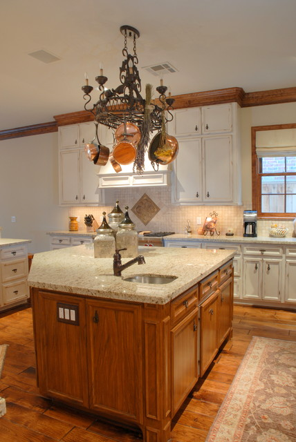Southside Place Residence traditional-kitchen