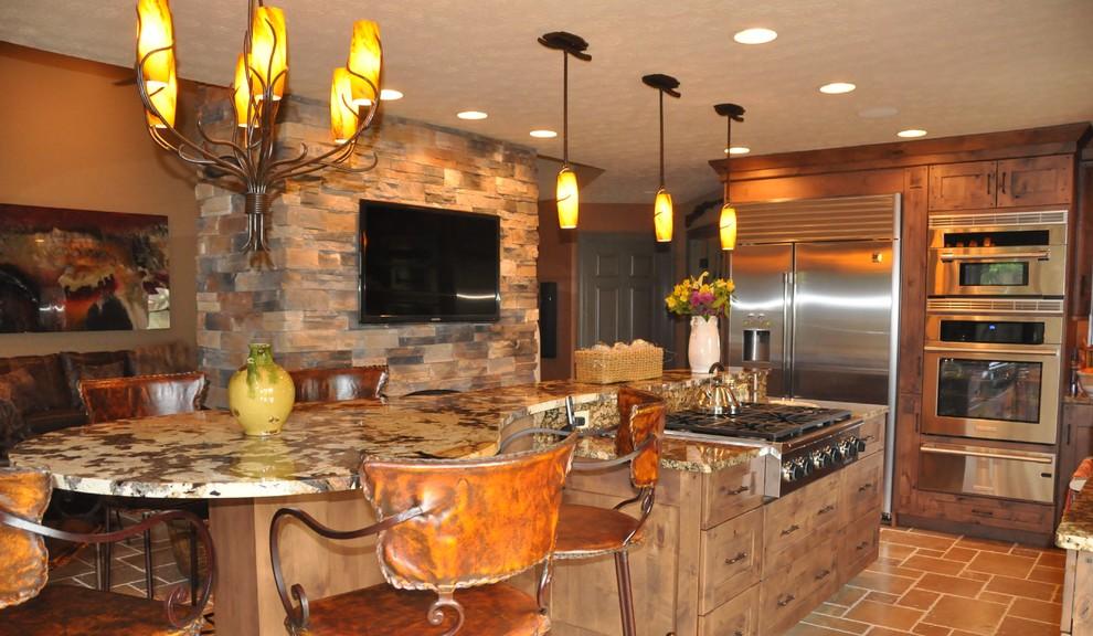 southwest condo - southwestern - kitchen - cincinnati -