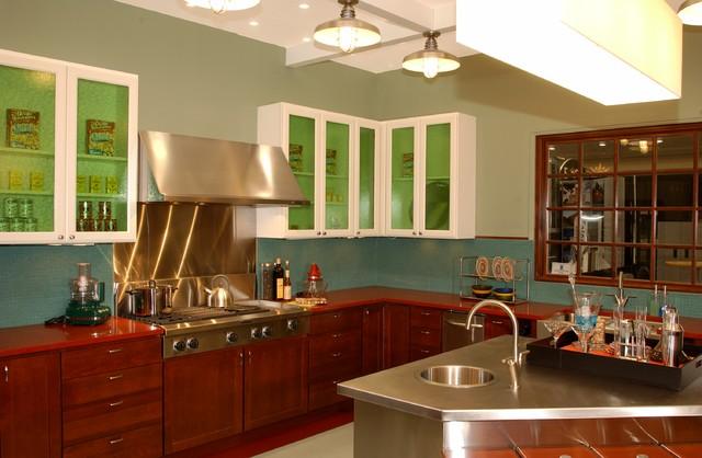 southwest kitchen - contemporary - kitchen - new york -