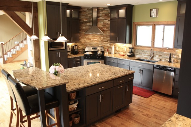 Southwest Missouri Modern/Rustic Kitchen - Transitional - Kitchen ...