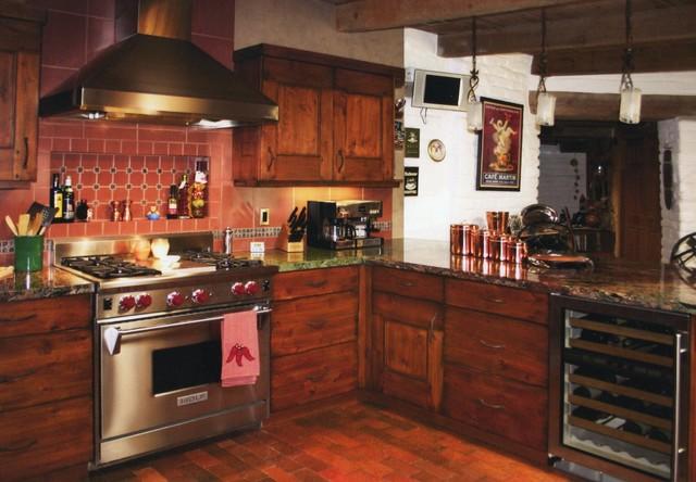 Southwest Rustic Kitchen traditional-kitchen