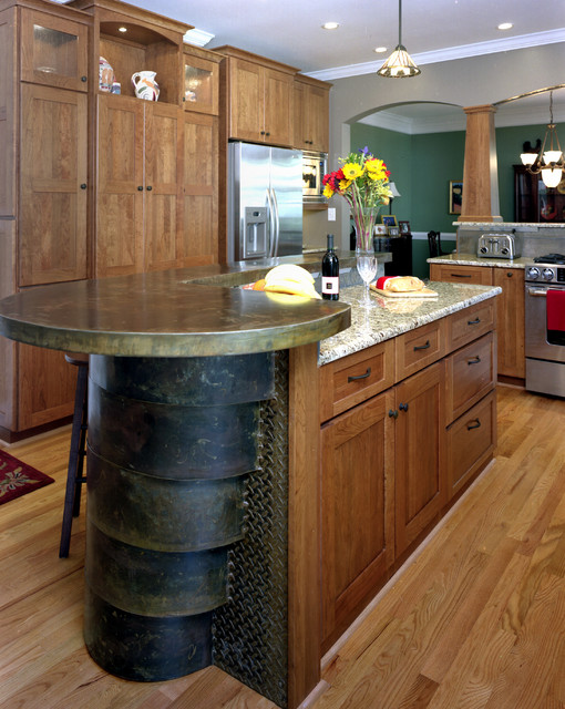 Southwest Style Traditional Kitchen Raleigh By