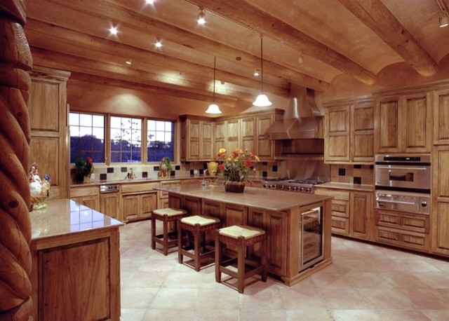 southwest style hom - traditional - kitchen - albuquerque -